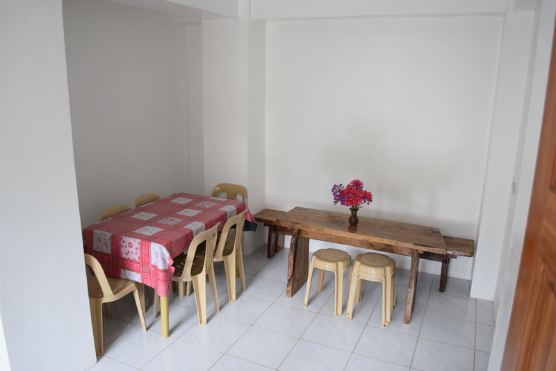Living area of Apartment D