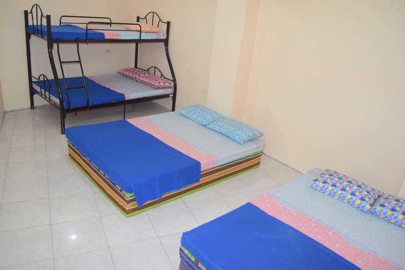 Sleeping Room of Apartment E